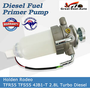 Details about Diesel Fuel Primer Pump Assembly For Rodeo TFR55 93-02 TFS55  90-02 4JB1-T 2 8L