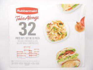Rubbermaid TakeAlongs Food Storage Containers & Lids - 32 Piece Set