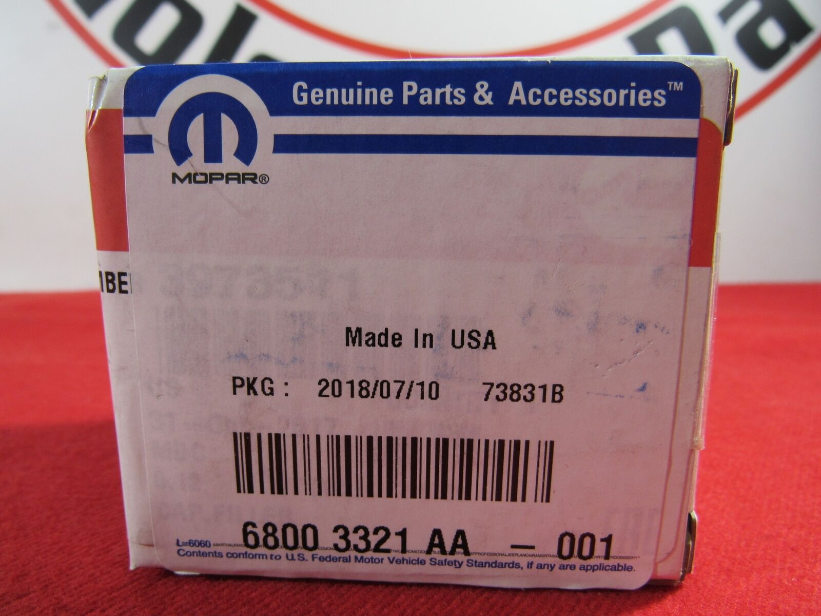 Genuine Chrysler 68003321AA Oil Filler Cap