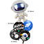 Astronaut-Space-Rocket-Happy-Birthday-Foil-Latex-Balloons-Kids-Party-Decorations thumbnail 6