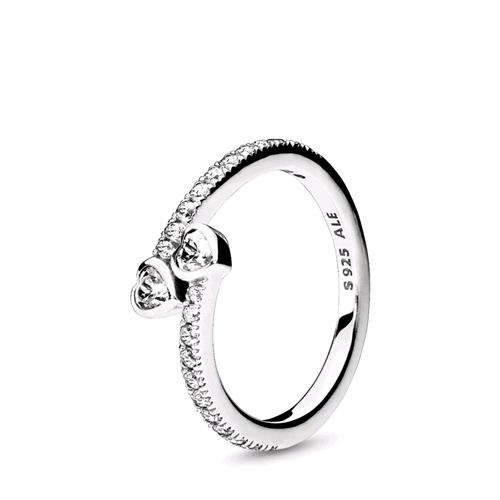 anello unione di cuori pandora