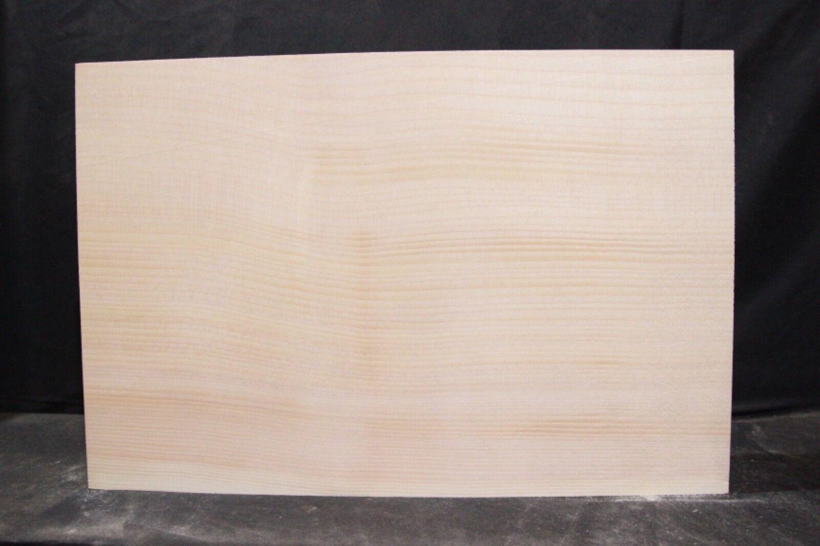 Spruce 1-piece guitar body blank      2041