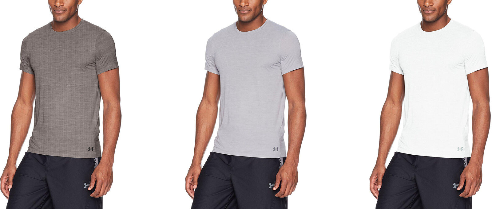 35be66cb13 Details about Under Armour Men's ArmourVent Short Sleeve Crew Tee, 3 Colors