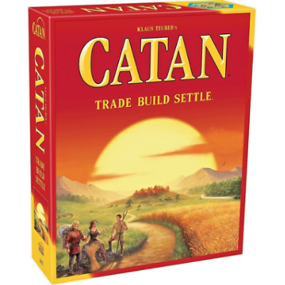 New Catan Board Game Settlers Of Catan 3-4 Players Sealed Family Party Game