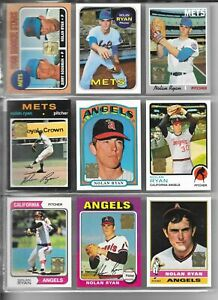 1999-Topps-NOLAN-RYAN-Complete-27-Card-Reprint-Set-Qty