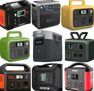 🔋⚡Portable Power Station Solar Generator for RV Outdoor Camping Travel USB 12V