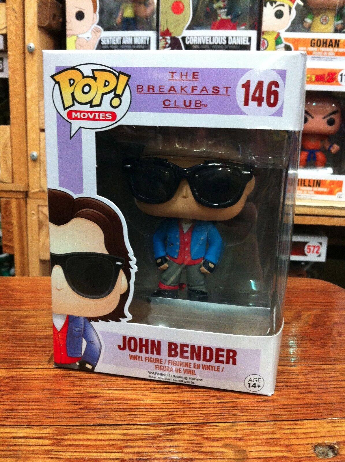 producto de calidad Pop películas películas películas Breakfast Club John Bender 146 Funko Pop Vinilo embalaje experto  costo real