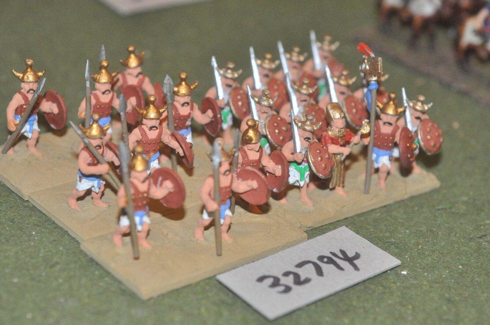25mm biblical   sea people - warriors 21 figures - inf (32794)