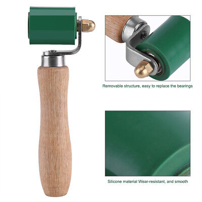 Hand Roller 40mm Silicone High Temperature Resistant Seam Hand Pressure Roller Roofing PVC Welding Tool