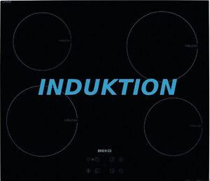 beko hii64401at induktion kochfeld 60cm autark touch control glaskeramik timer ebay. Black Bedroom Furniture Sets. Home Design Ideas