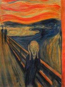 The Original Scream Painting Edvard Munch Reproduction