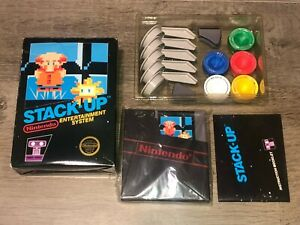 Stack-Up-Complete-Nintendo-Nes-Complete-CIB-Hang-Tab-Authentic