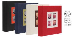 Fotoalbum 2058 für 200 Fotos in 10x15 cm Einsteck Foto Album