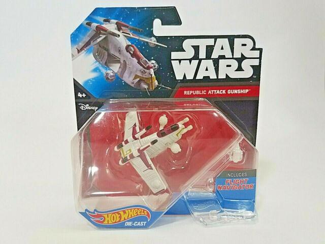 Hot Wheels Star Wars Republic Attack Gunship Die-Cast Vehicle
