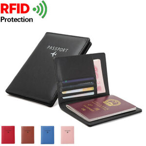 Travel-Trip-Secure-RFID-Blocking-Leather-Passport-Holder-Cards-Case-Cover-Wallet