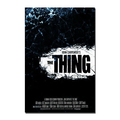 THE THING Movie Horror John Carpenter Alien Silk Poster 13x20 20x30 inch