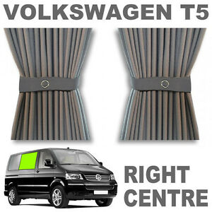 VW-T5-Curtain-Kit-GREY-Right-Centre-VWT5-Campervan-Curtains