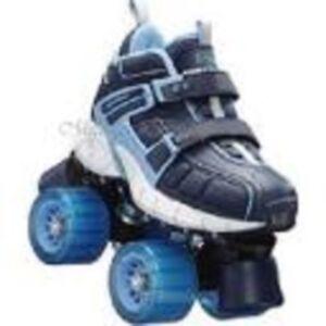 skechers adjustable quad roller skate