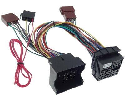 PARROT THB Adapter AUDI VW OPEL SEAT SKODA BLUETOOTH ISO Stecker Kabel Kabelbaum