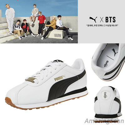 BTS Official Goods - PUMA X BTS TURIN Shoes + Photo Card, BANGTAN BOYS KPOP  | eBay
