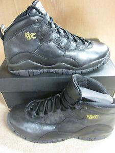 Détails sur Nike Air Jordan 10 Rétro GS Baskets Montantes 310806 012 Baskets
