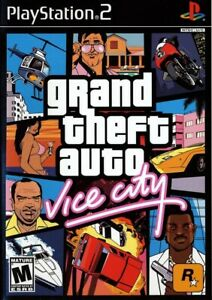 Grand Theft Auto: Vice City - Playstation 2 Game