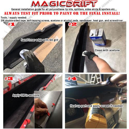 05 06 07 08 09 FORD MUSTANG V8 GT CV2 URETHANE FRONT BUMPER LIP SPOILER SPLITTER