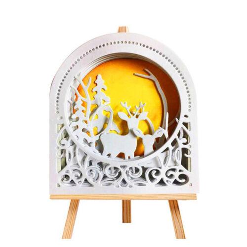 Semicircular Frame Metal Cutting Dies Stencil Scrapbook Embossing  Crafts Decor