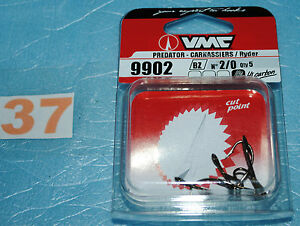 1-paquet-d-034-Hamecons-double-VMC-9902-BZ-taille-au-choix-de-n-8-a-n-2-0-neuf