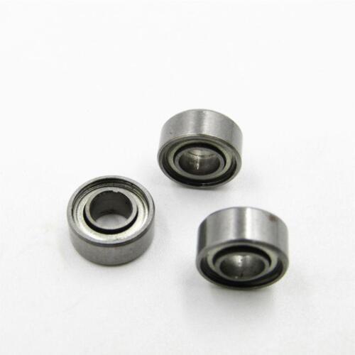 10 Pcs Metal Double Shielded Ball Bearing Bearings 4*9*4 684ZZ 4x9x4mm