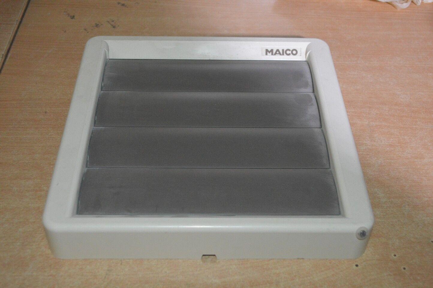 Lüftungsgitter, DN150mm 198x198mm, MAICO AS20, Servo Verschlussklappe     | Qualität  | Lebhaft  |