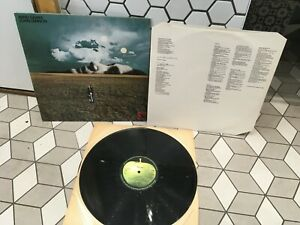 John Lennon Mind Games Lp Vinyl Lyric Inner 1st Press Apple 73 Original Beatles Ebay