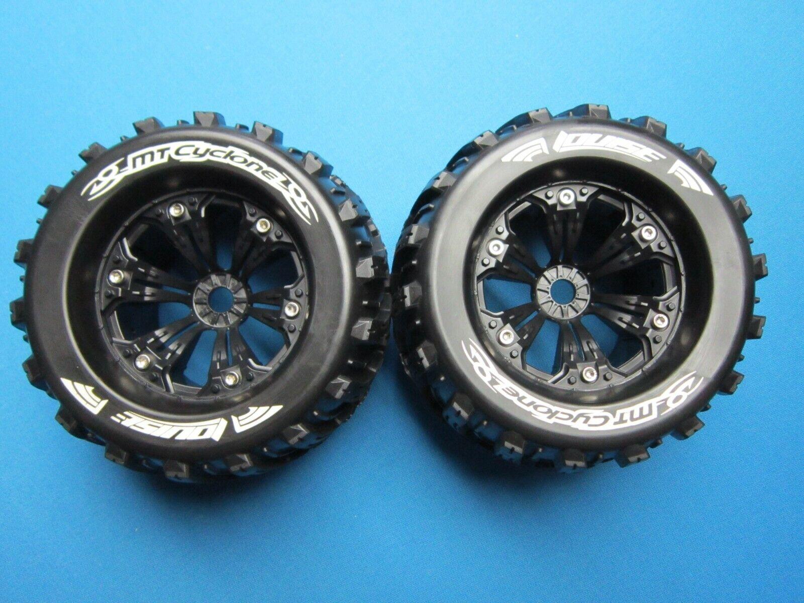 2 LOUISE MT-CYCLONE 1 8 3.8  Camión Ruedas Neumáticos 1 2 Offset 17MM-REVO TRAXXAS E
