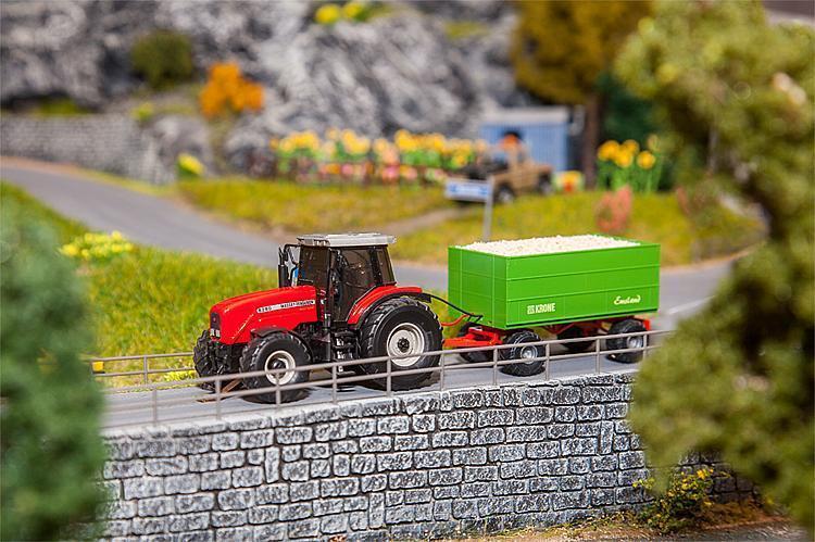 FALLER 161588 car système tracteur avec copeaux de bois-remorque Nouveau OVP