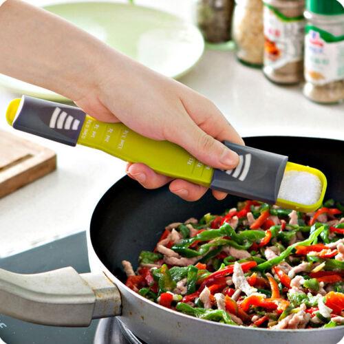 Easy Cooking Baking Kitchen Adjustable Quantitative Scale Metering Powder Spoon