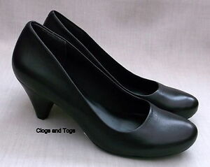 Ceylon Leaf New Clarks Shoes Black Leather Womens gEwp8qx865