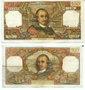 100 Francs Corneille Du 1-4-1965 C .88 Kuk6eq27-07234042-857934206