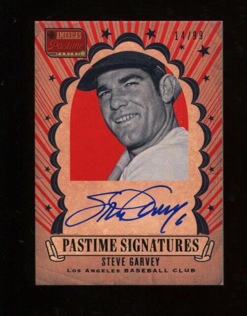 2013 Panini America's Pastime Steve Garvey Autograph /99 Dodgers
