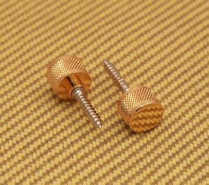 922-1029-000 Gold Genuine Gretsch Guitar/Bass Gold Strap Buttons