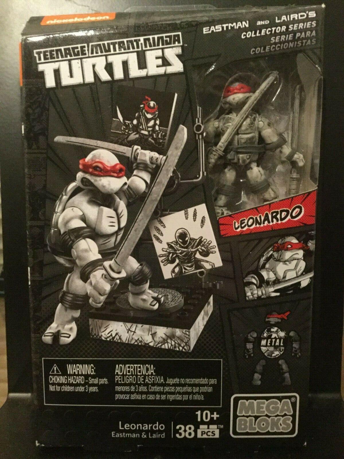 Mega Bloks Ninja Turtles Eastman /& Laird /'s Collector Series Rooftop Combat