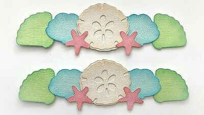 2 Playgrounds Premade PAPER Die Cuts Scrapbook /& Card Making
