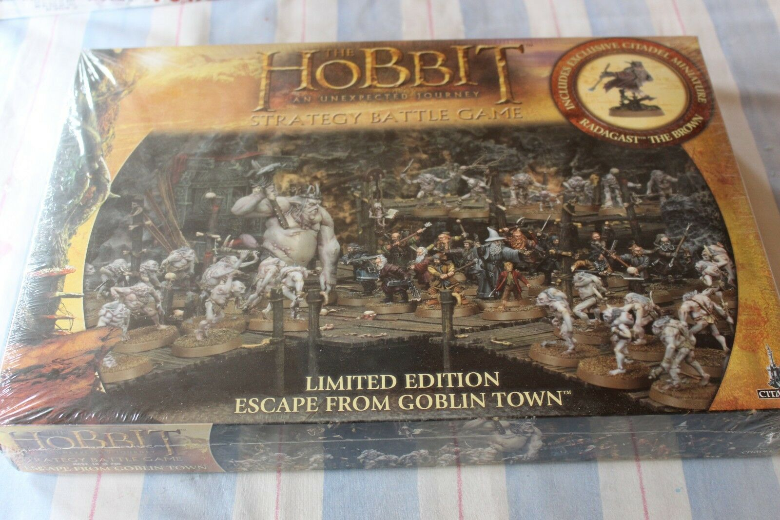 Games Workshop The Hobbit Escape from Goblin Town Limited Edition BNIB Sealed GW