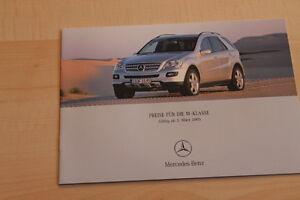 79636-Mercedes-M-Klasse-Preise-amp-Extras-Prospekt-03-2005
