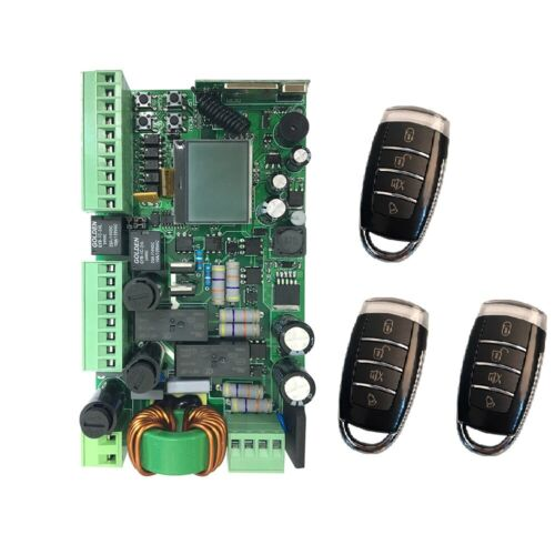 NSEE YET870 220VAC 433MHz Circuit Control Board Automatic Swing Gate Door Opener