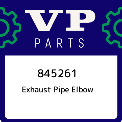 Volvo Penta   exhaust elbow 845261 original genuine.