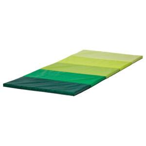 IKEA-PLUFSIG-Gymnastikmatte-faltbar-78x185cm-Turnmatte-Sportmatte-Bodenmatte-NEU