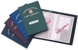 ds-Porta-Carta-D-039-identita-Custodia-Documento-Plastica-Con-Display-Protezione-dfh