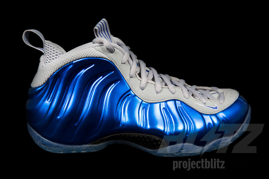 Nike AIR FOAMPOSITE ONE SPORT ROYAL GAME WOLF GREY Sizes 6.5-11.5 314996-401