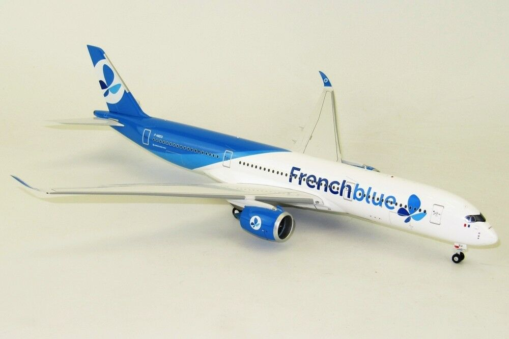 Inflight 200 IF350BF001 1/200 Airbus A350-941 Francese Blu F-Hreu con Supporto