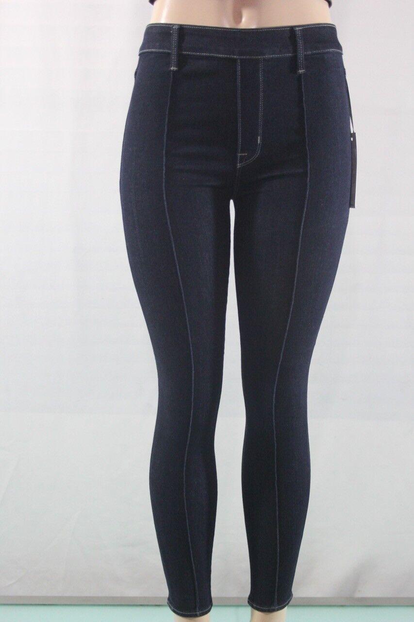 NEW Women's Parker Smith Norma jean in deep indigo Jeans SZ 26 USA